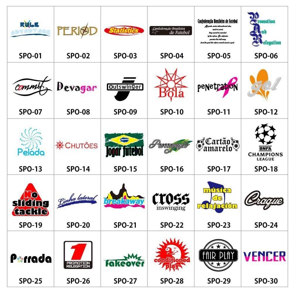 スポーツマークSPO-01〜30