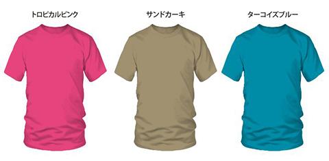 コットン半袖Tシャツ13