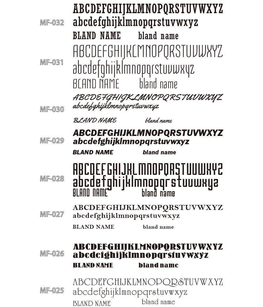 英文字フォント02
